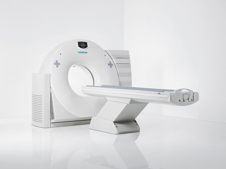 siemens somatom emotion 16 ct scanner